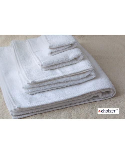 Махровое полотенце  «Cholzer» (Белый цвет) Турция