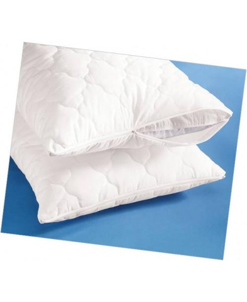 Подушка со съемным стеганым чехлом