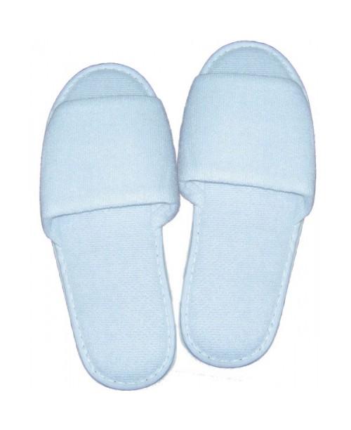Тапочки махровые с открытым носком